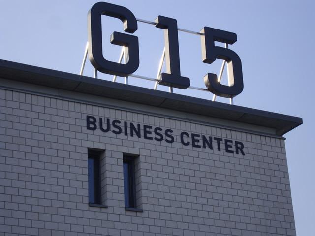 G15 Dachbuchstaben